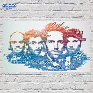 PÓSTER COLDPLAY