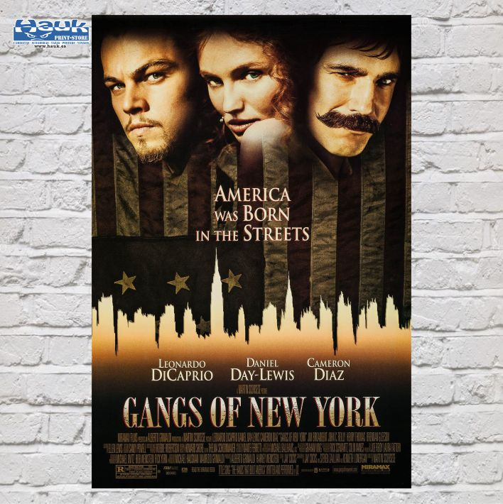 PÓSTER GANGS OF NEW YORK