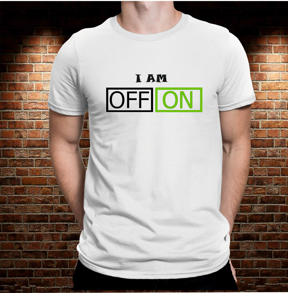 CAMISETA I AM ON