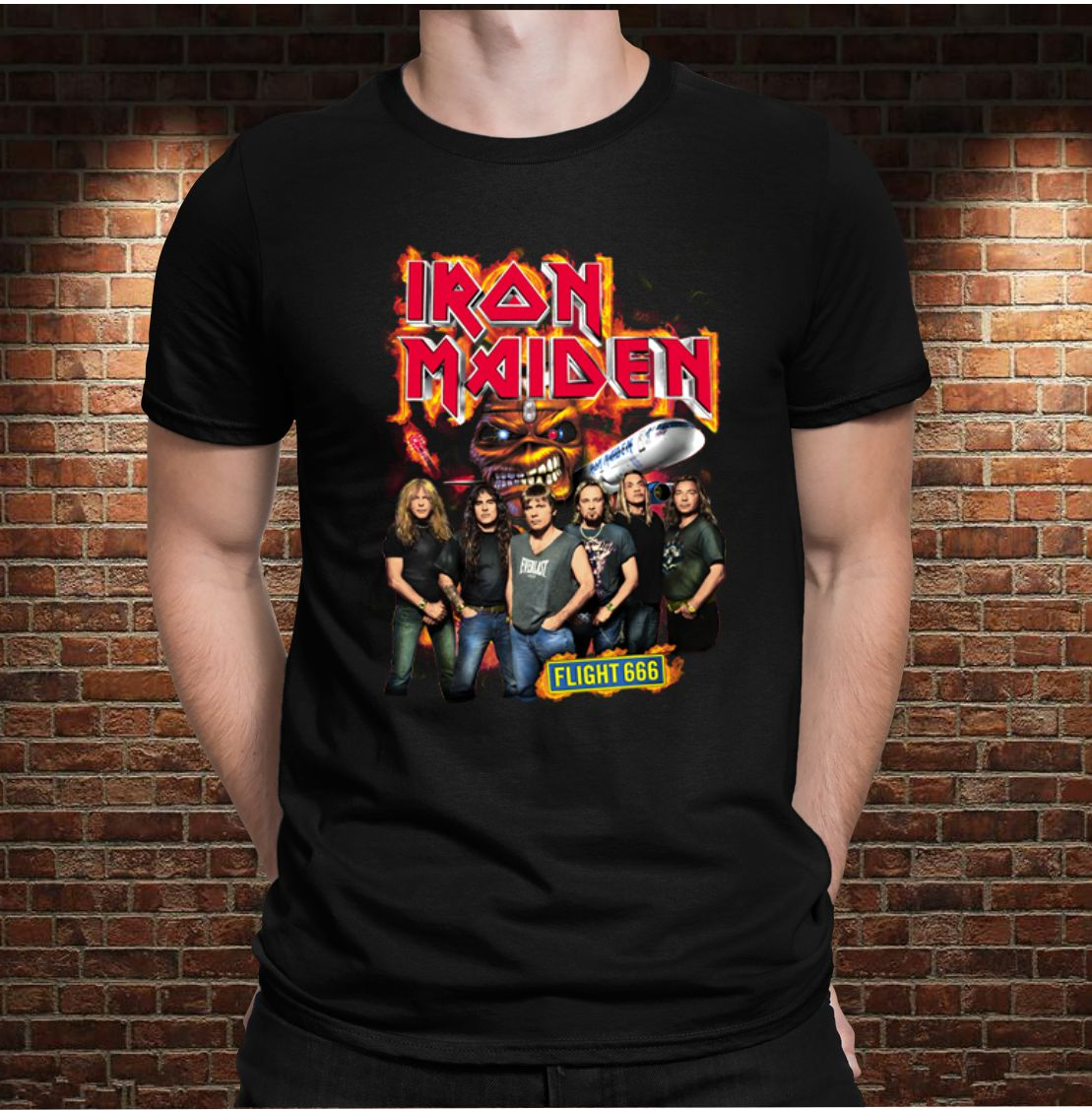 CAMISETA IRON MAIDEN