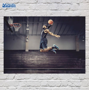 PÓSTER LEBRON JAMES MATE