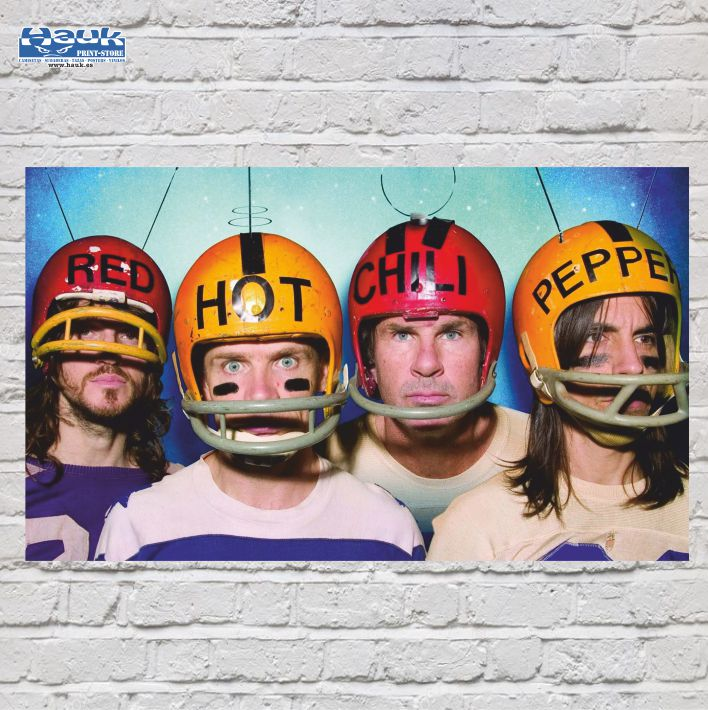 PÓSTER RED HOT CHILI PEPPERS