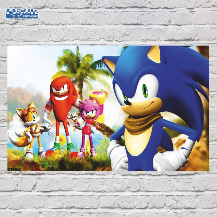 PÓSTER SONIC 4.0