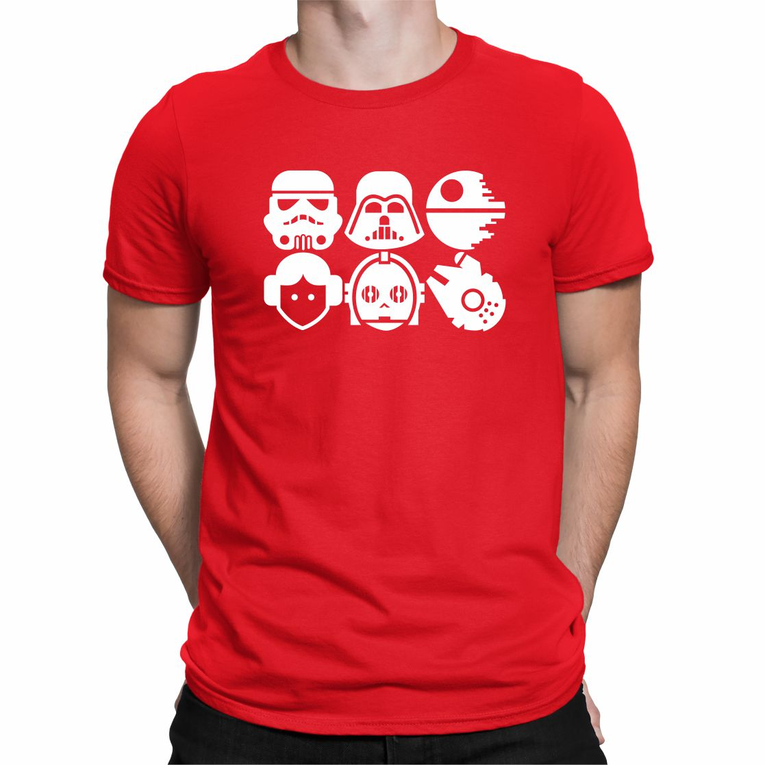 CAMISETA STAR WARS FIGURE