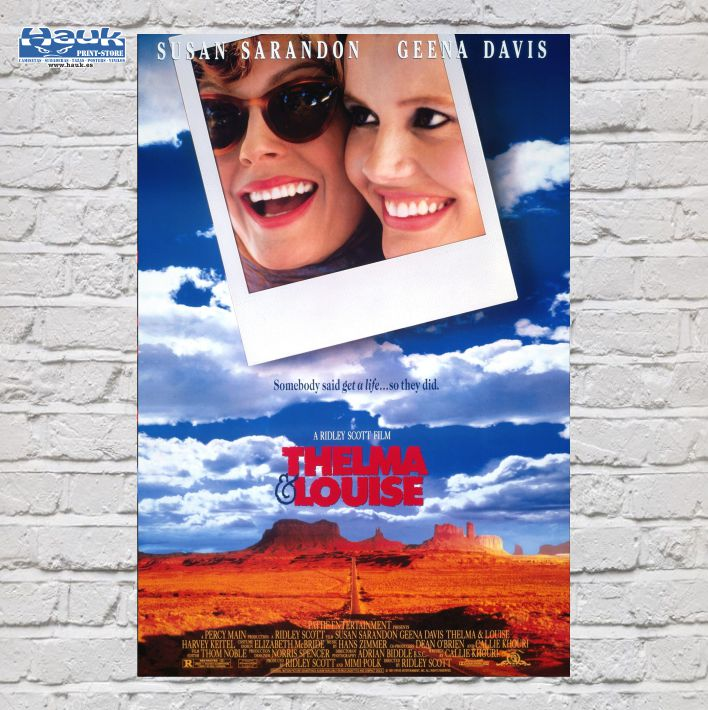 PÓSTER THELMA & LOUISE