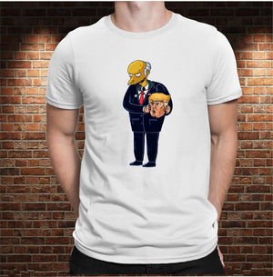 CAMISETA MR. BURNS & TRUMP