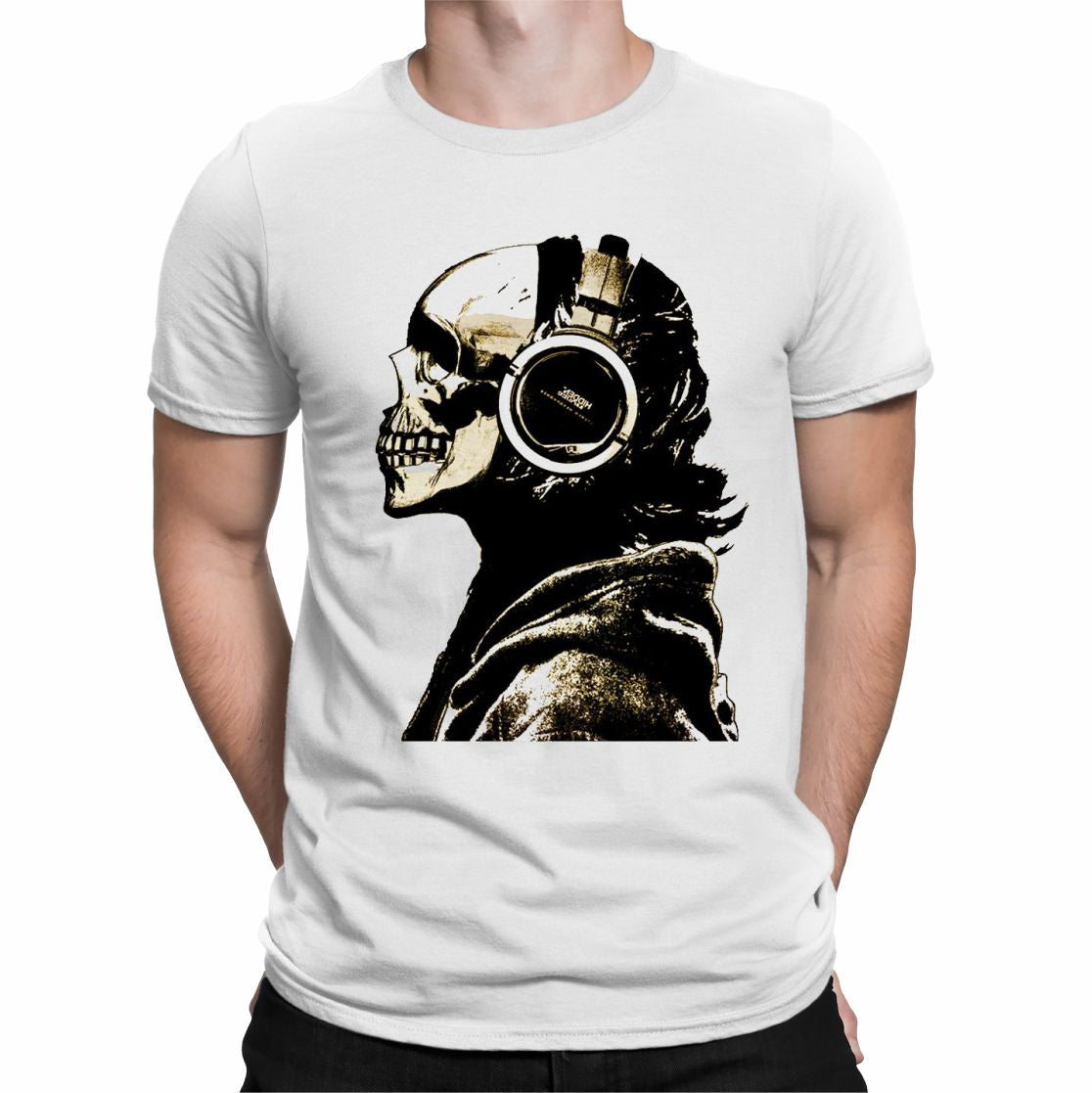 CAMISETA CALAVERA ROCK
