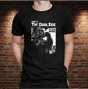 CAMISETA COME TO DARK SIDE