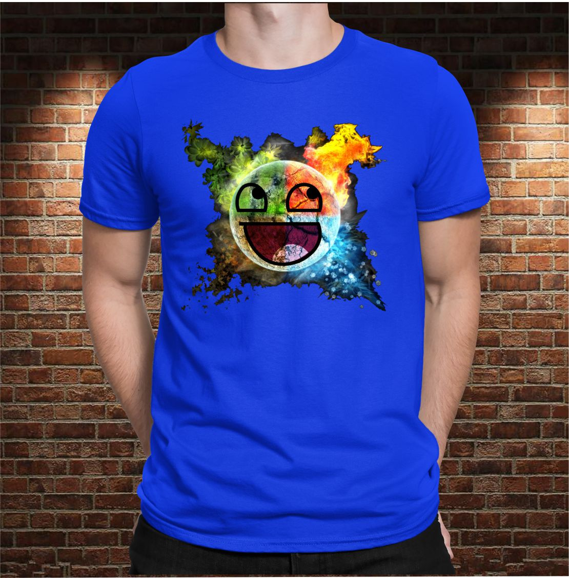 CAMISETA EMOTICONO COLOR