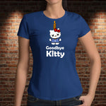 CAMISETA GOODBYE KITTY