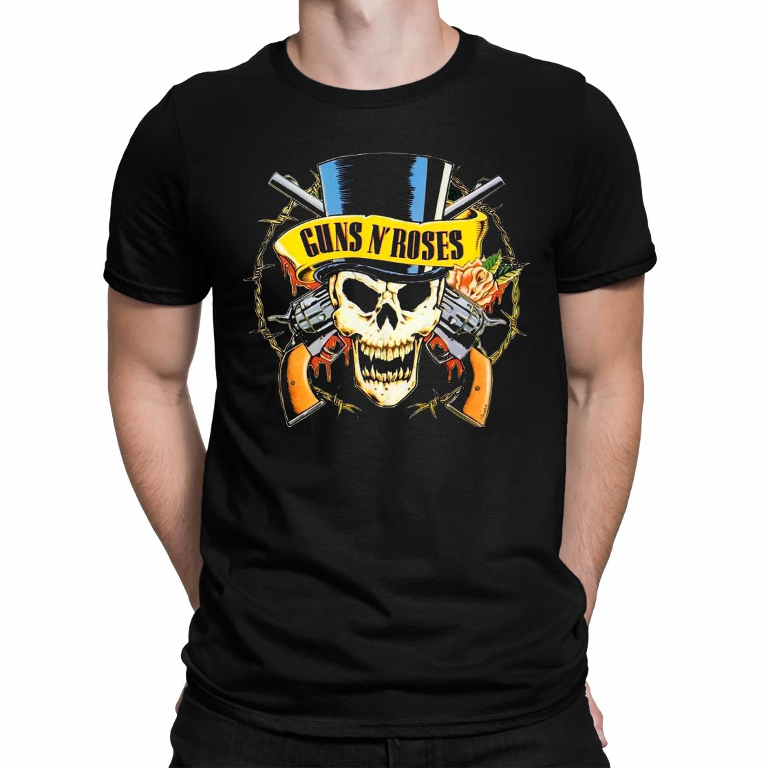 CAMISETA GUNS AND ROSES 2.0