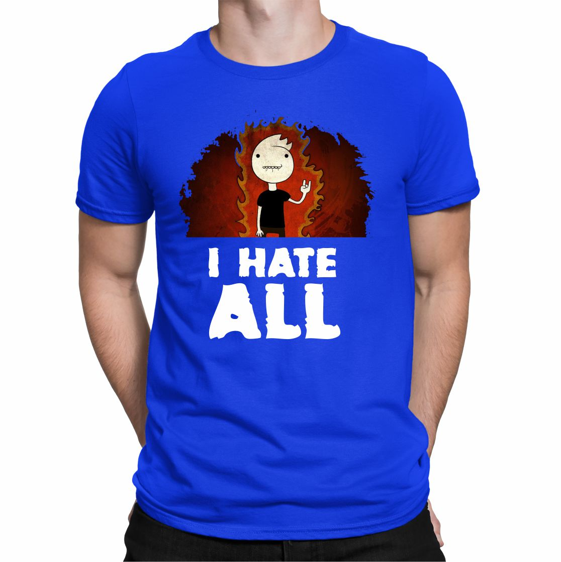 CAMISETA I HATE ALL