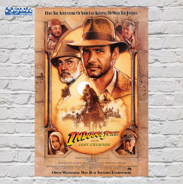 PÓSTER INDIANA JONES