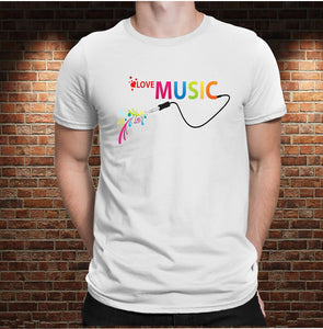 CAMISETA LOVE MUSIC