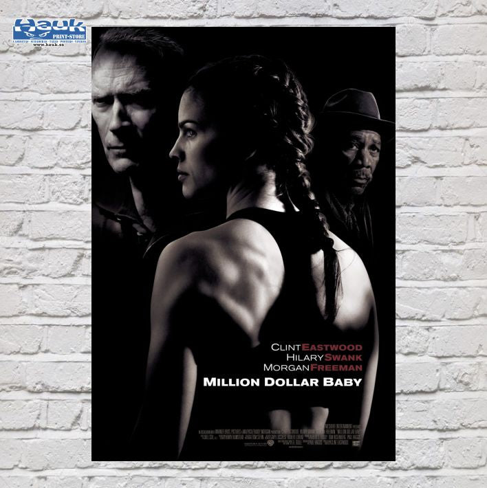 PÓSTER MILLION DOLLAR BABY