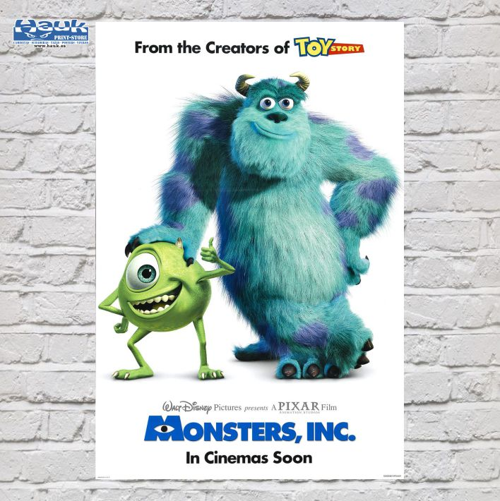 PÓSTER MONSTER S.A.