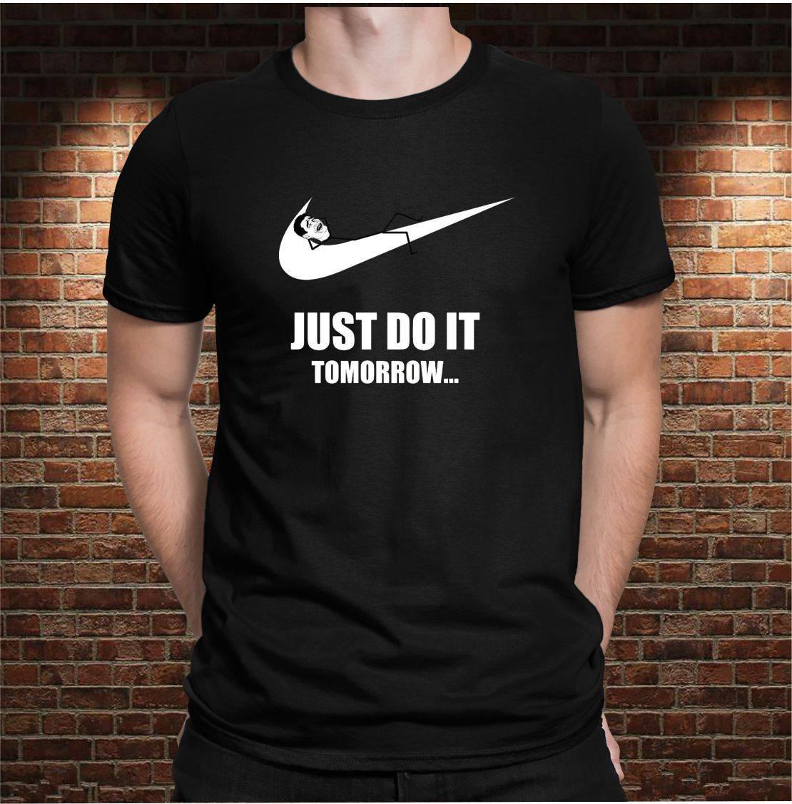 CAMISETA JUST DO IT...TOMORROW