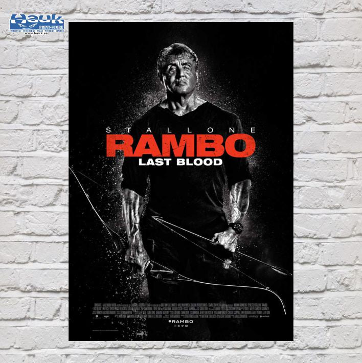 PÓSTER RAMBO LAST BLOOD