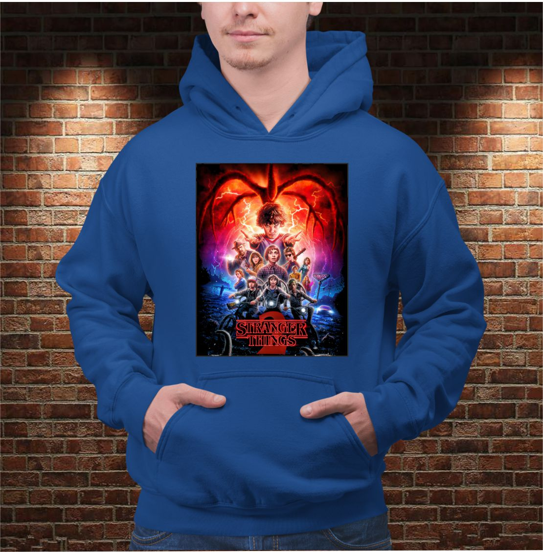 SUDADERA STRANGER THINGS