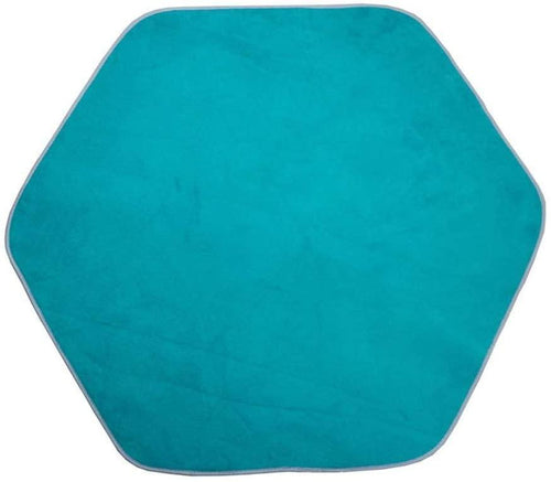 Soft Thicken Hexagonal Kids Tent Mat