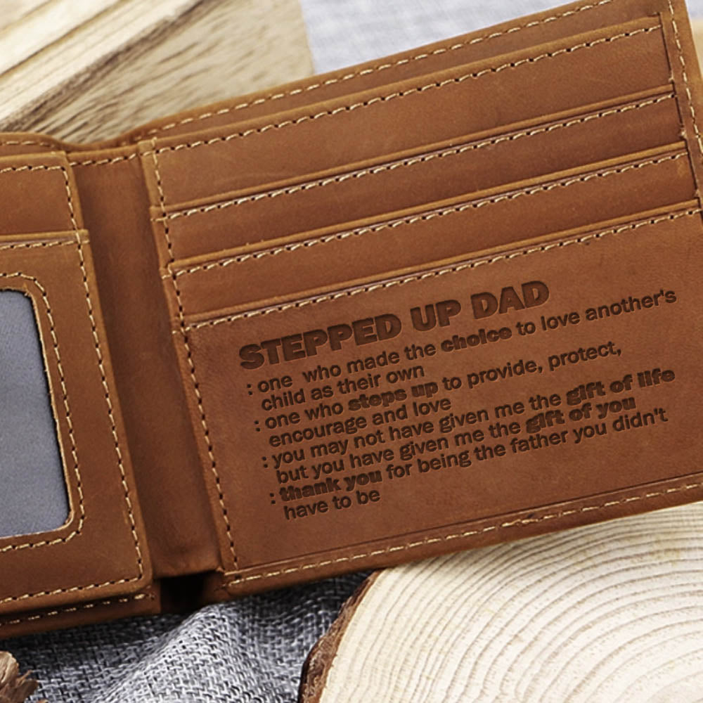 Wallet For Stepped Up Dad - CLW106
