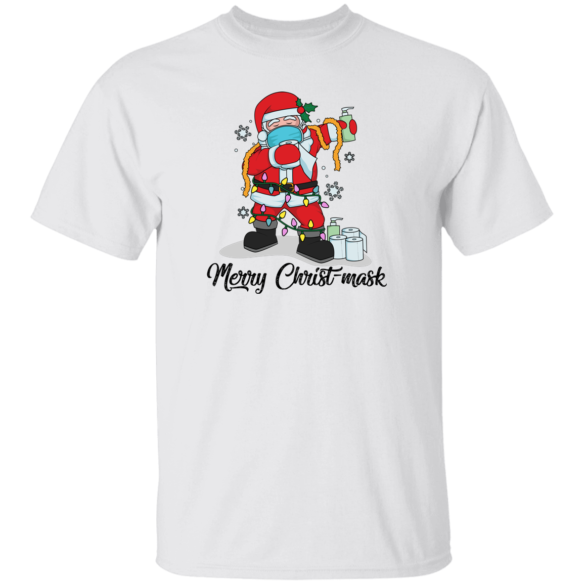 Merry Christ-mask Family Shirts - CSCC106