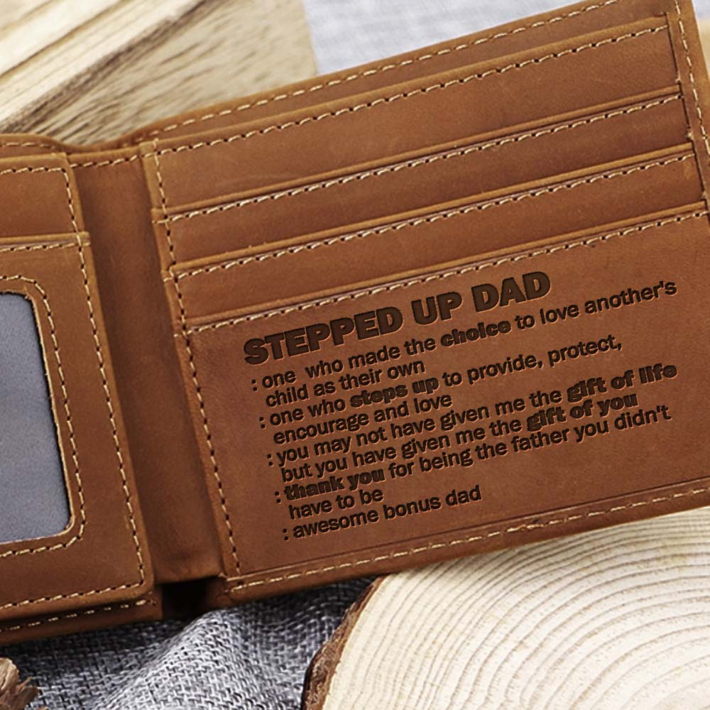 Wallet For Stepped Up Dad - CLW103