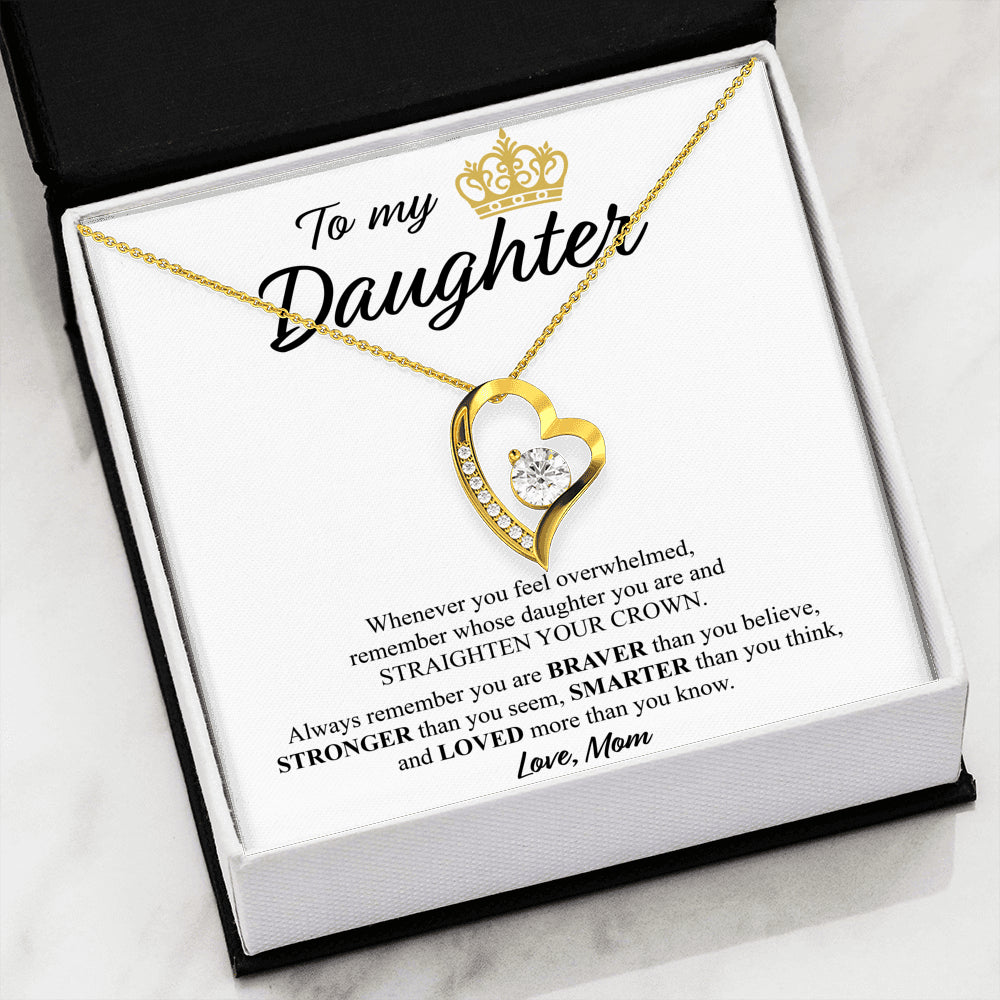 To My Daughter - Straighten Your Crown!