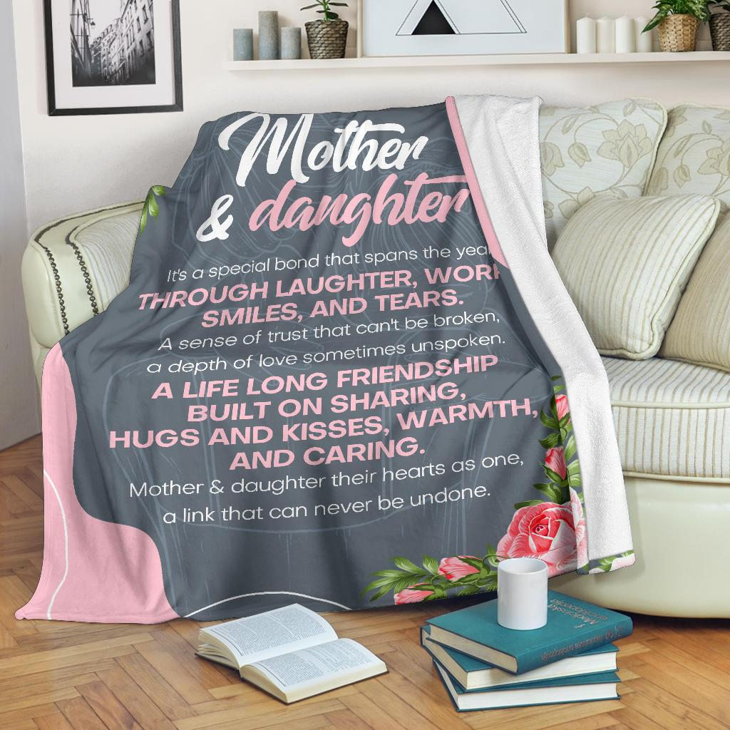 Mother and Daughter Premium Blanket - CSCCB155