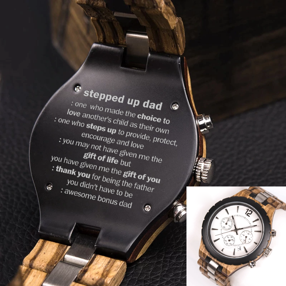 Chronograph Watch For Stepdad - CSCW101