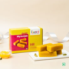 Load image into Gallery viewer, Ghee Mysore pak (Mysurpa)