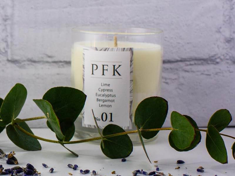 PFK Well-being candle NO.1 - Invigorate
