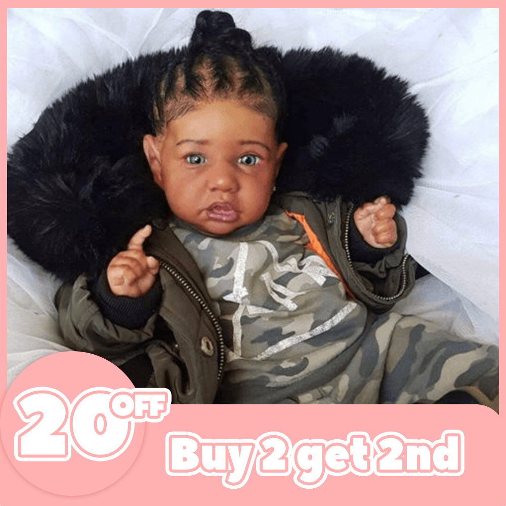 12'' Cool Girl Francisca Realistic Reborn Baby Doll