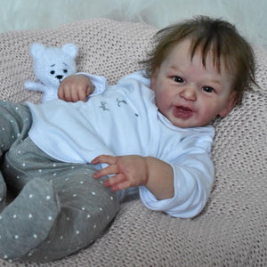 Realistic 21'' Trina New Silicone Reborn Baby Doll Girl