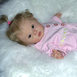 Realistic 20'' Little Cute Scarlett Reborn Baby Doll Girl- So Truly Lifelike Baby