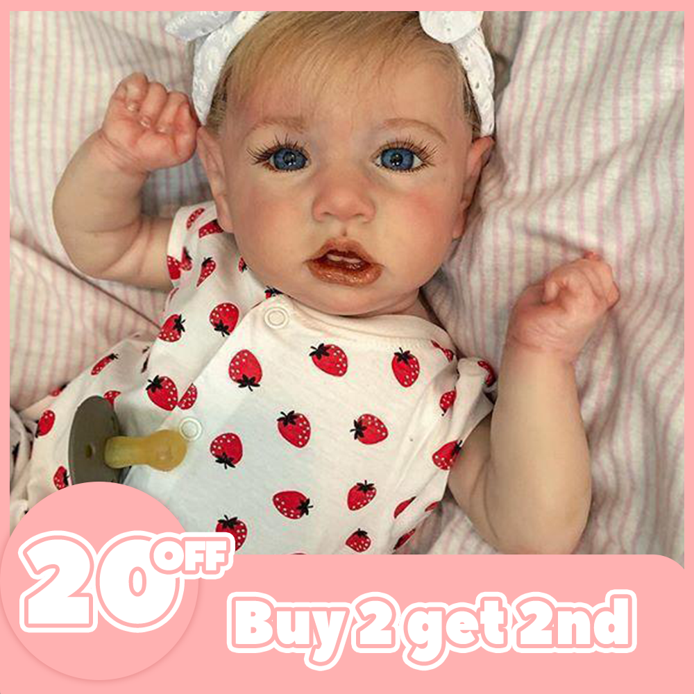 12'' Cutest Realistic Reborn Baby Doll Girl Tara