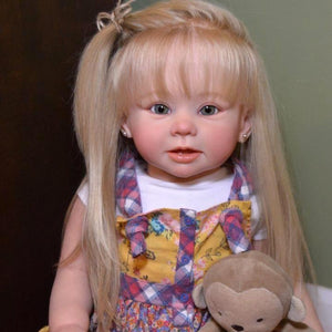 17'' Lifelike Cute Beautie Vera Reborn Baby Doll Girl