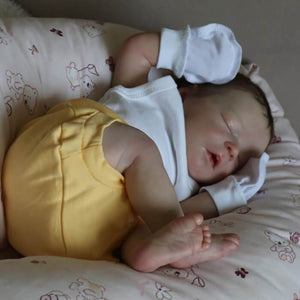reborndollsshop NEW ARRIVALS Lifelike 17.5'' Maren Reborn Baby Doll Boy by Rebirthdoll® Exclusive