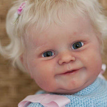 Laden Sie das Bild in den Galerie-Viewer, reborndollsshop Series Maddie 22'' Little Esmeralda Cute Reborn Baby Doll -Realistic And Lifelike