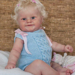 reborndollsshop Series Maddie 22'' Little Esmeralda Cute Reborn Baby Doll -Realistic And Lifelike