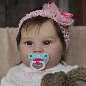 reborndollsshop Series Maddie 22'' Little Kehlani Cute Reborn Baby Doll -Realistic And Lifelike