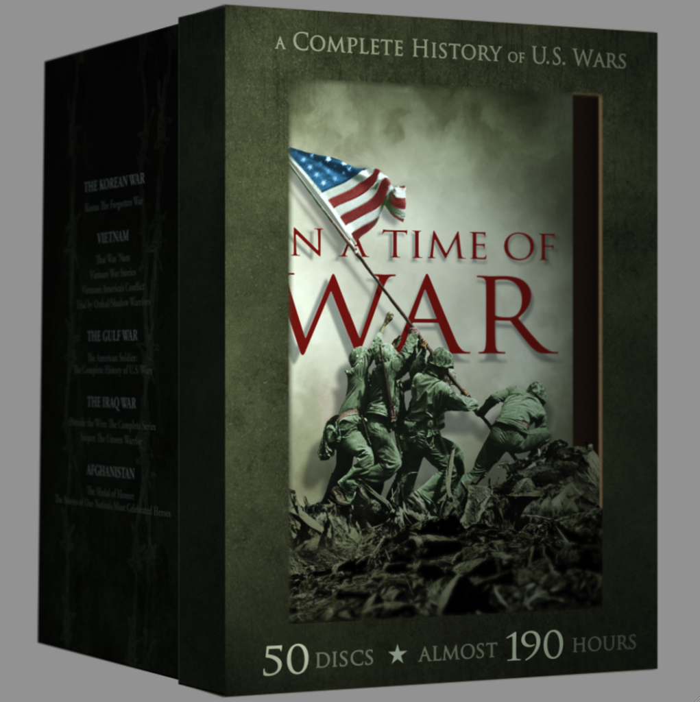 """In A Time of War"" 27-Documentary 50-DVD Collector's Collection"