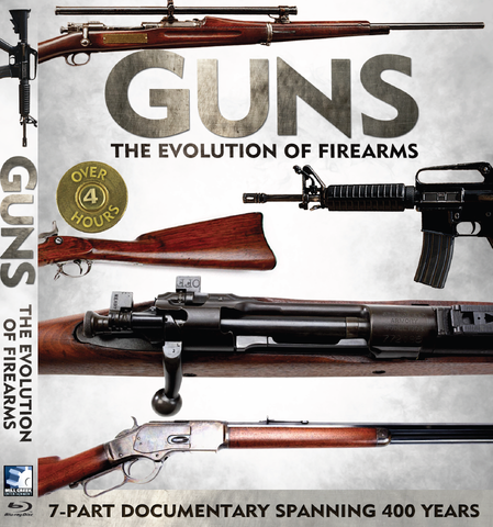 """Guns: The Evolution of Firearms"" Blu-Ray"
