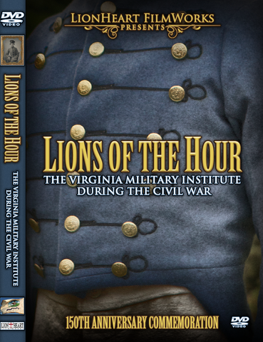 """Lions of the Hour"" Blu-Ray - New Market 150th Anniversary Documentary"