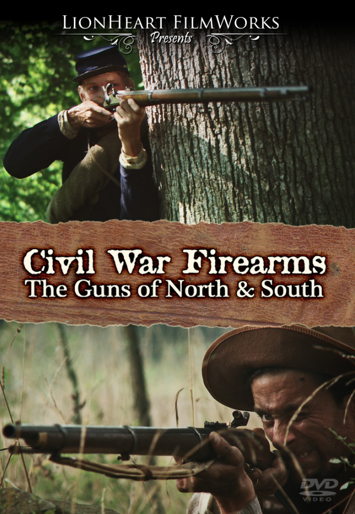 """Civil War Firearms: The Guns of North & South"" DVD"