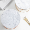 Nordic Style Marble Cake Tray