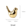 Gold Bird Figurine Decoration
