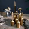 Gold Candle Holders Set