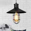 Vintage Pendant Lights Black Metal