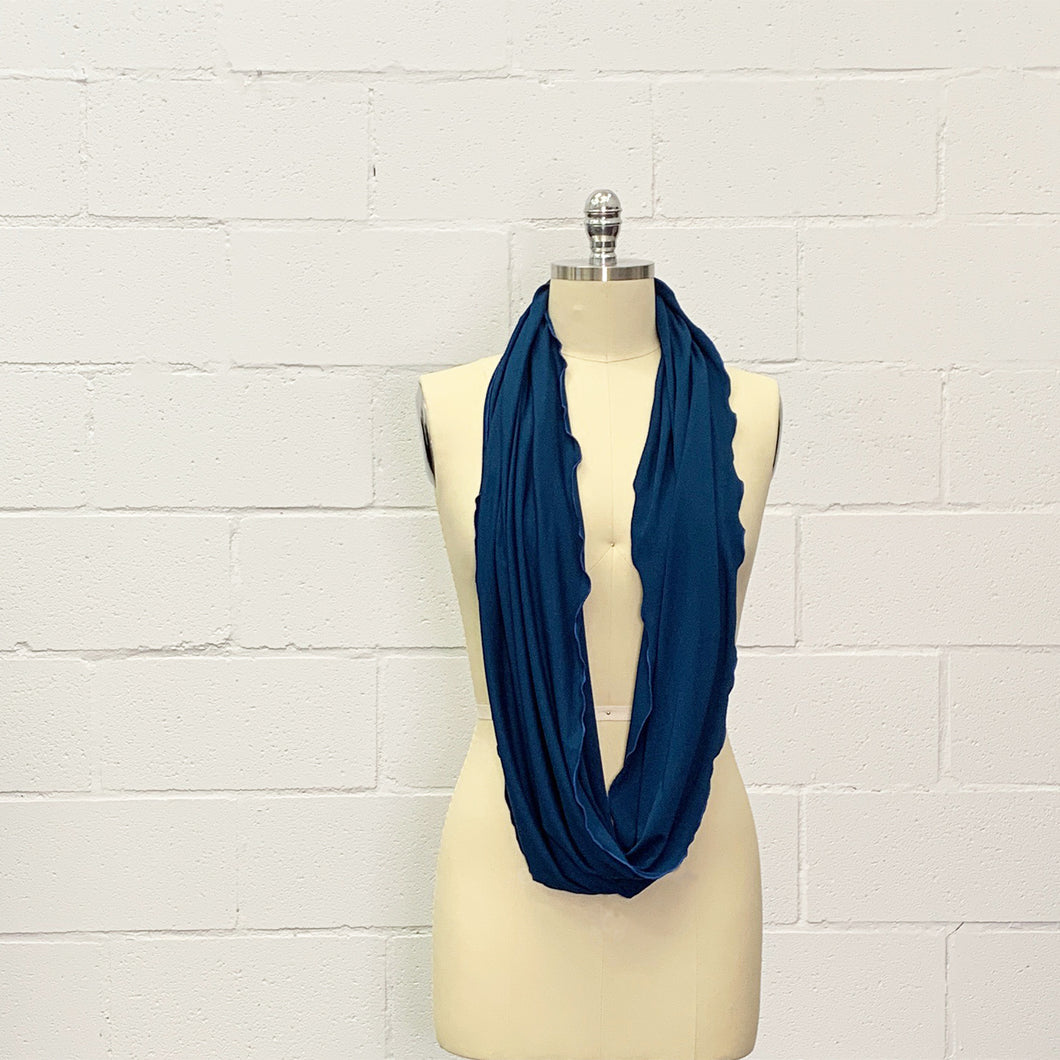 Twisted Loop Scarves